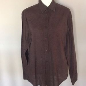 50% off H&M Other - H&M brown button down shirt in L from Zlove's ...